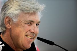 Carlo Ancelotti Real Madrid CF Training and Press Conference 24102014