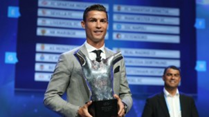Cristiano Ronaldo Best Men's Player in Europe 24082017