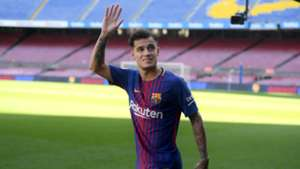 Philippe Coutinho New Barcelona Signing Philippe Coutinho Unveiled 08012018