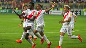 Peru v New Zealand WC intercontinental playoff in Lima 15112017