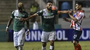 Andrés Pérez y Teófilo Gutiérrez Deportivo Cali vs Junior Copa Sudamericana 13072017