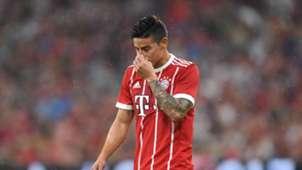James Rodriguez Bayern Munich Liverpool Audi Cup 01082017