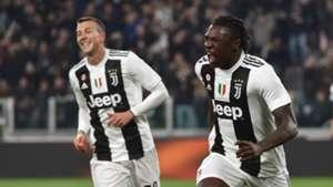 Kean Juventus v Udinese Serie A 08032019
