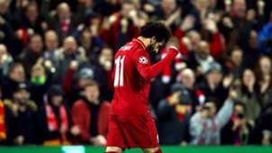 Salah Liverpool v Napoli Champions League 11122018