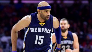 Vince Carter Memphis Grizzlies vs Los Angeles Clippers NBA 16112016