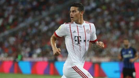 James Rodriguez Bayern Muenchen v Inter Milan International Champions Cup 27072017