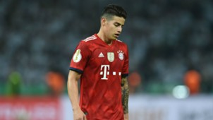 James Rodriguez Bayern Muenchen v Eintracht Frankfurt DFB Cup Final 19052018