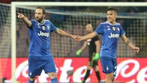 Gonzalo Higuaín Napoli v Juventus Copa Italia 05042017
