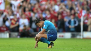 Alexis Sanchez Liverpool Arsenal Premier League 27082017