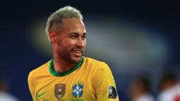 Neymar Brazil v Peru Copa America 07052021
