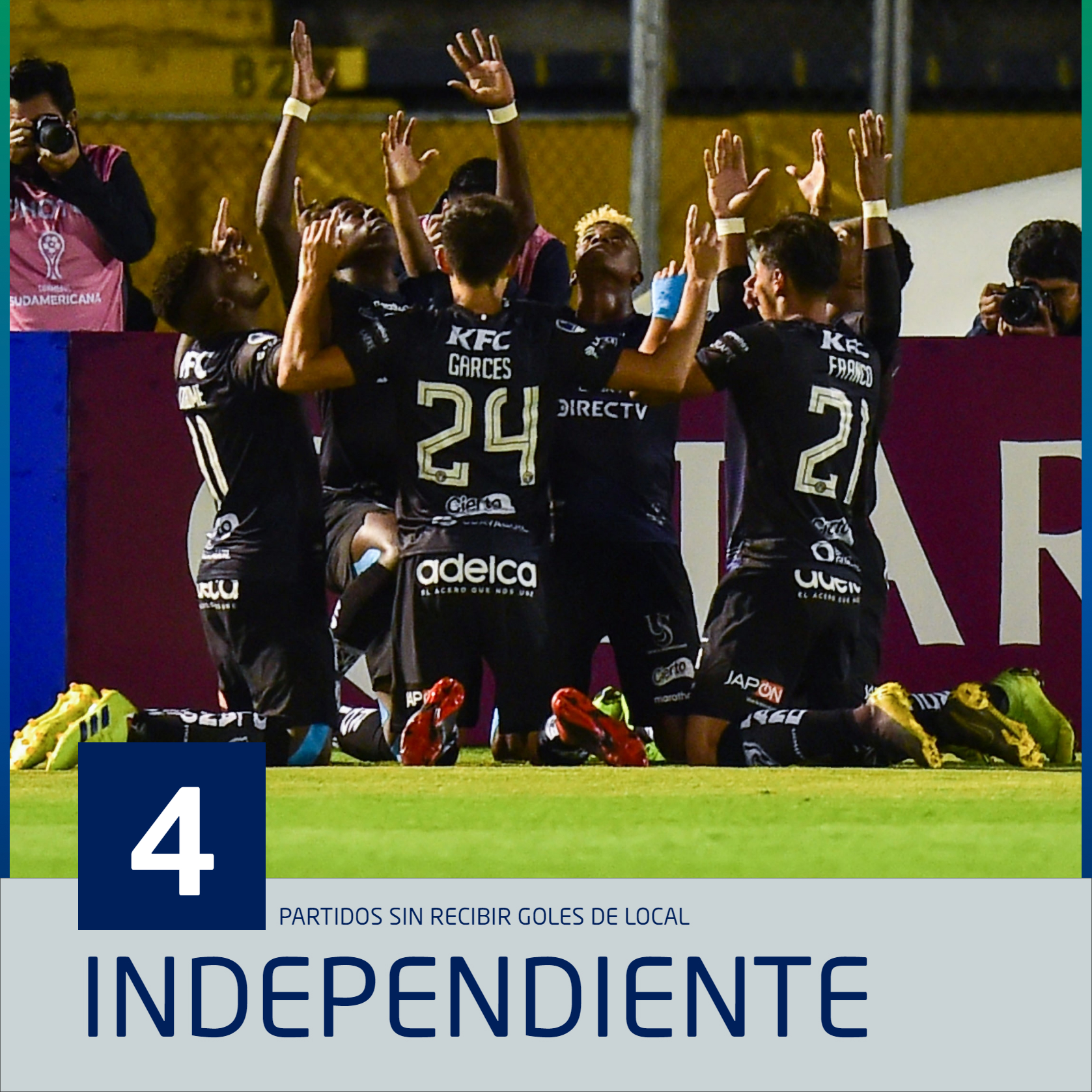 PS Independiente del Valle valla invicta sudamericana