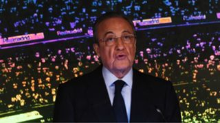 Florentino Perez Real Madrid Unveil New Manager Zinedine Zidane 11032019