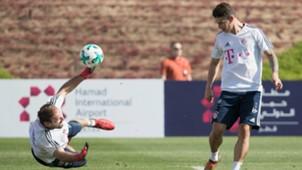 James Rodriguez FC Bayern Muenchen Doha Training Camp 03012018