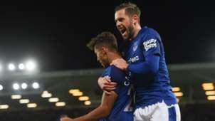 Gylfi Sigurdsson Everton v Huddersfield Premier League 02122017