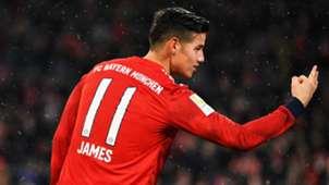 James Rodriguez FC Bayern Muenchen v 1. FSV Mainz 05 Bundesliga 17032019