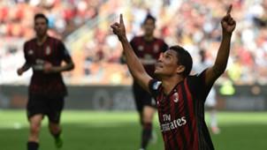Carlos Bacca Milan vs Palermo Serie A 09042017