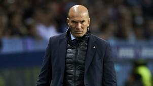 Zinedine Zidane Malaga v Real Madrid La Liga 15042018