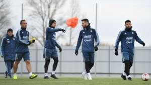 Selección Argentina Lionel Messi Paulo Dybala Sergio Agüero 07112017