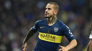 Dario Benedetto Boca Juniors at River Plate Final Copa Libertadores 09122018