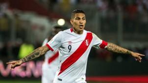 Paolo Guerrero Peru vs Colombia SAWCQ 10102017