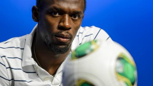 Usain Bolt Soccer Zúrich 28082013
