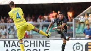 Cristiano Ronaldo Chievo v Juventus Serie A 18082018