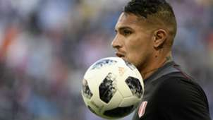 Paolo Guerrero Peru v Denmark Group C FIFA World Cup Russia 16062018