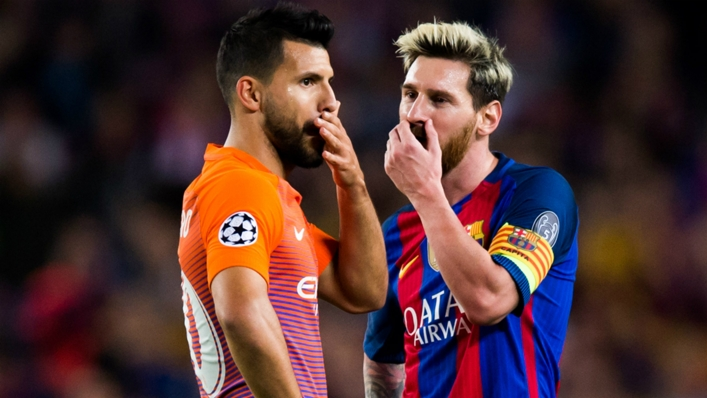 Sergio Aguero and Lionel Messi have been close on and off the pitch