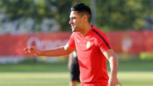 Radamel Falcao Monaco training session 16102017