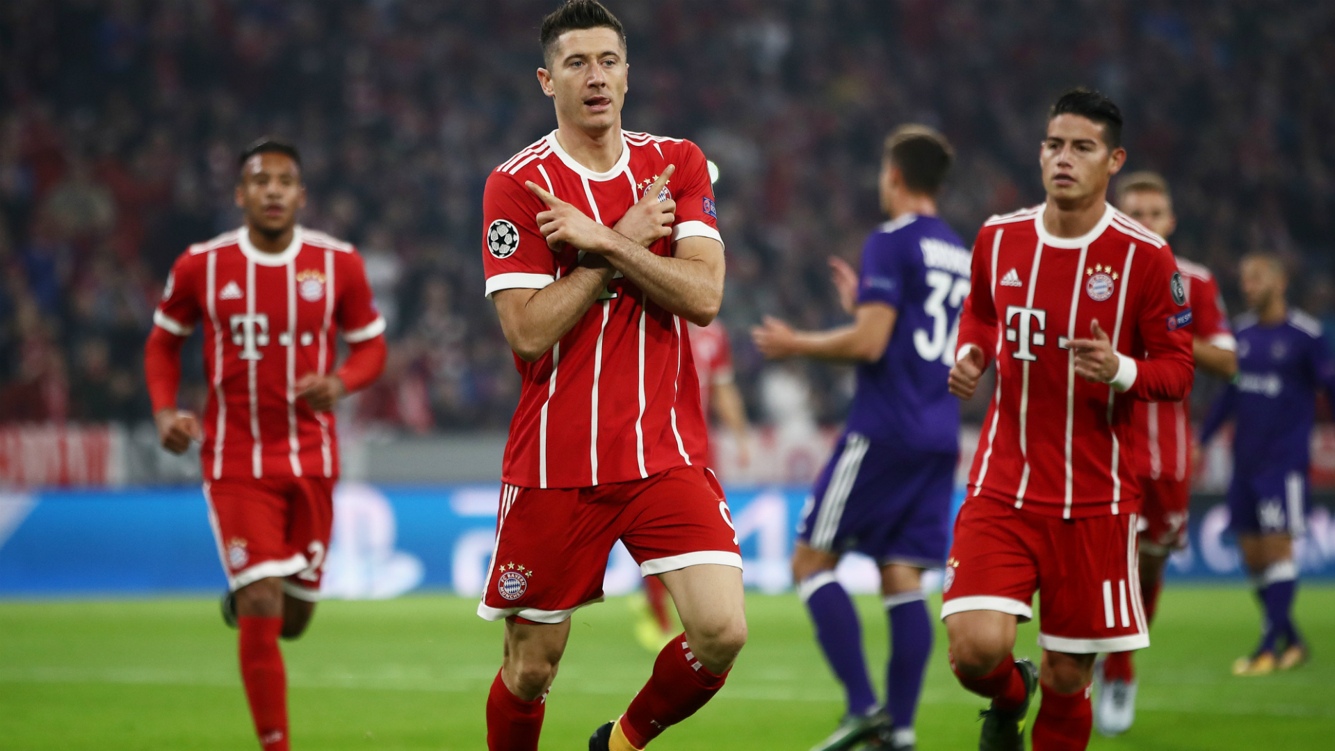 Sin Vidal, el Bayern Munich superó al Anderlecht