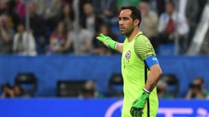 Claudio Bravo Chile v Germany Confederations Cup final 02072017