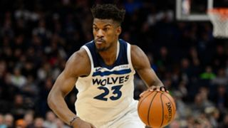 Jimmy Butler Minnesota Timberwolves vs Houston Rockets NBA 13022018