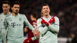 Robert Lewandowski Bayern Múnich vs Hannover 96 Bundesliga 15122018