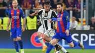 Juventus v Barcelona UEFA Champions League quarterfinal 11042017