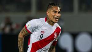 Paolo Guerrero Peru v Brazil WC qualifying south america in Lima 15112016