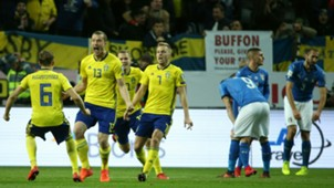 Sweden v Italy World Cup qualifiers 11102017