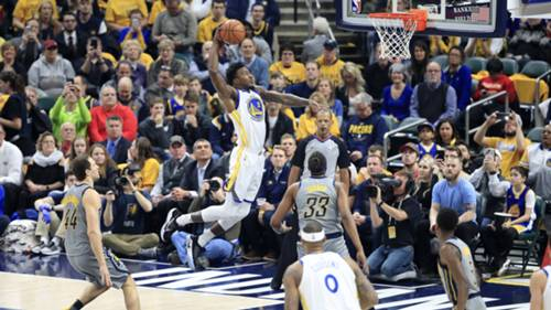 Golden State Warriors Indiana Pacers NBA