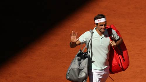 Roger Federer Madrid Open 10052019