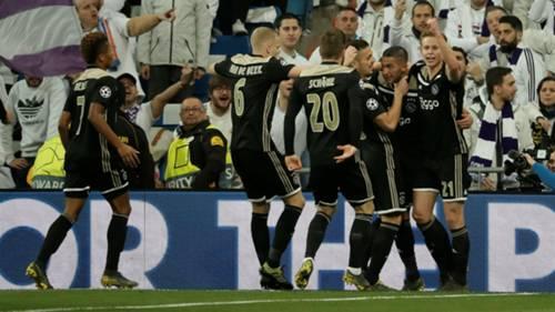 Real Madrid Ajax Sevinc