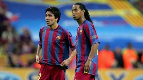 Deco Ronaldinho Barcelona