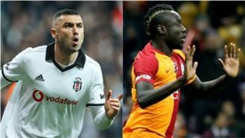 Burak Yılmaz Mbaye Diagne Besiktas Galatasaray