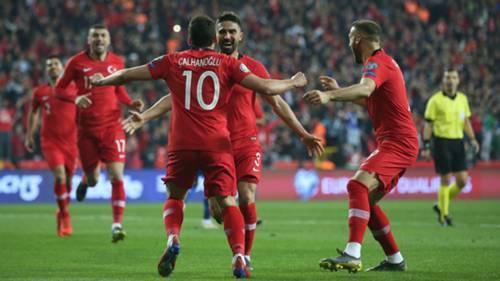 Turkiye Moldova Gol Sevinc 032519
