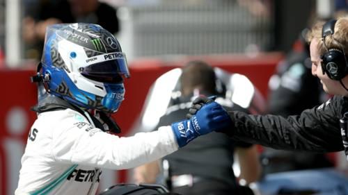 Valtteri Bottas Ispanya GP Pole