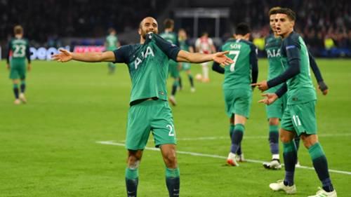 Lucas Moura Ajax Tottenham