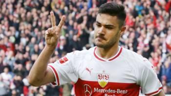 Ozan Kabak Stuttgart Gol Sevinci