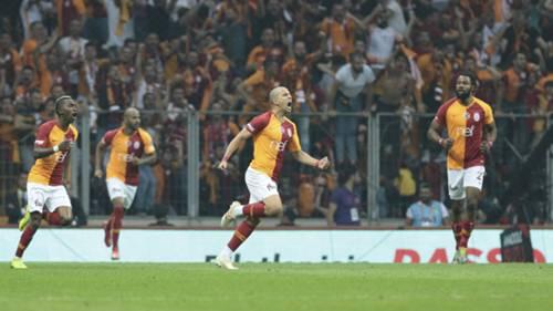 Galatasaray Basaksehir Gol Sevinc 05192019