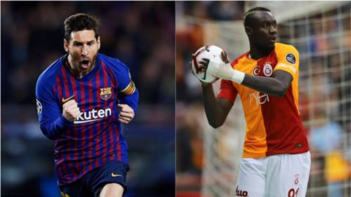 Lionel Messi Mbaye Diagne