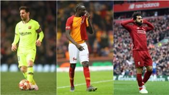 Lionel Messi Mbaye Diagne Mohamed Salah