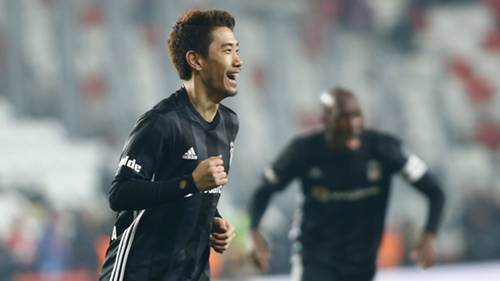 Shinji Kagawa Besiktas Antalyaspor