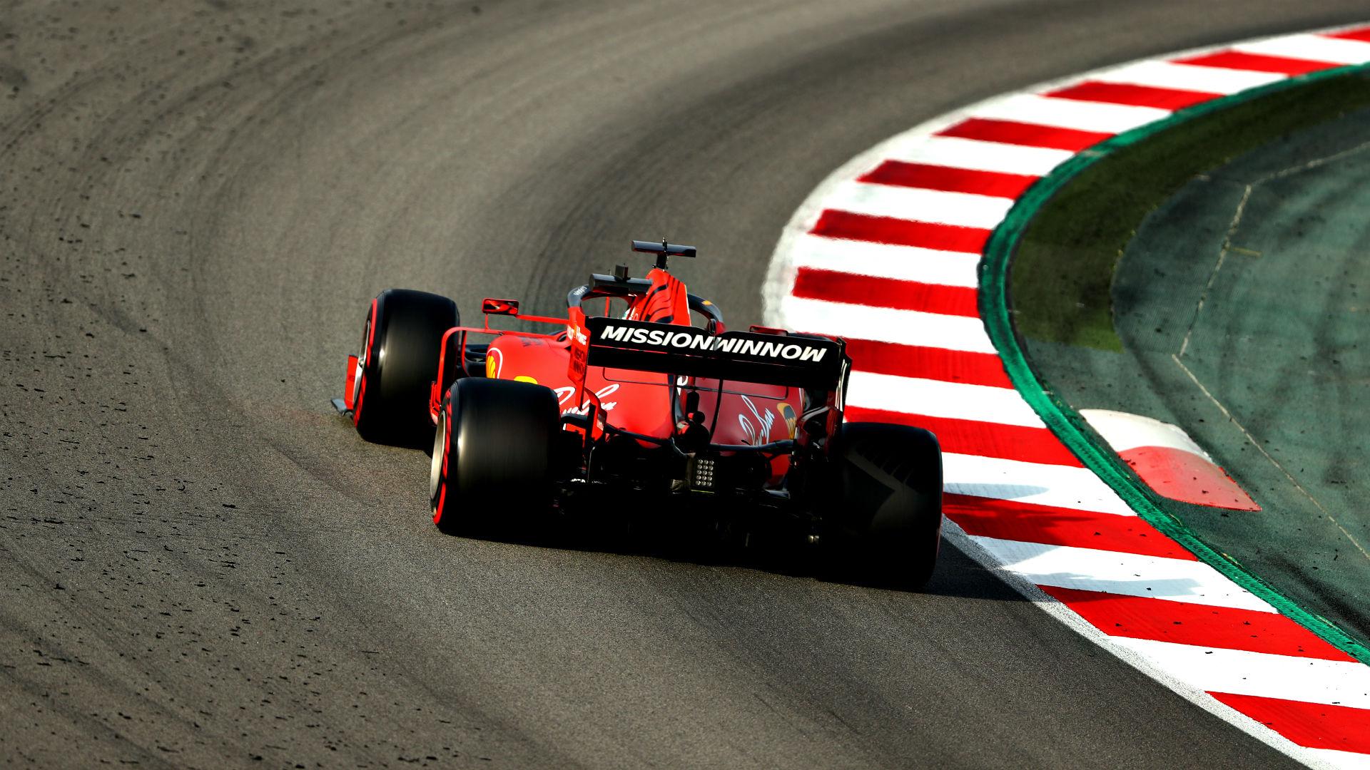 Ferrari 2019 Barcelona Test